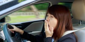 วิธีแก้ง่วงขณะขับรถ